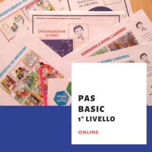 PAS BASIC 1° livello online novembre 2021 - LISTA D'ATTESA
