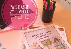 PAS BASIC 2° LIVELLO online maggio 2021
