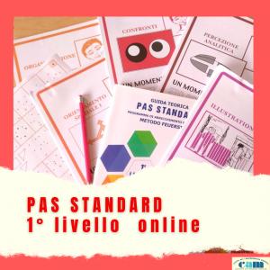 PAS STANDARD 1° livello online gennaio 2022