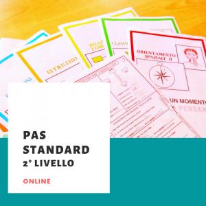 PAS STANDARD 2° LIVELLO online marzo 2021