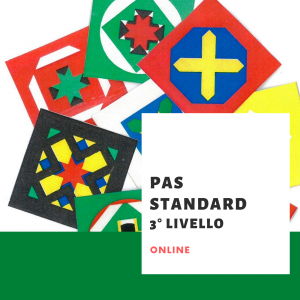 PAS STANDARD 3° livello online - LISTA D'ATTESA